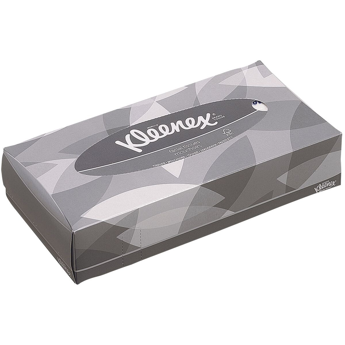 Kleenex Boîte de mouchoirs 100 mouchoirs