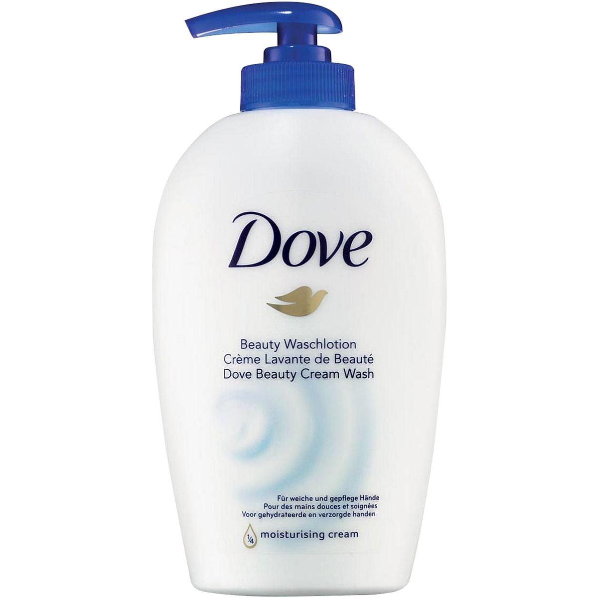 Dove Savon mains liquide avec crème