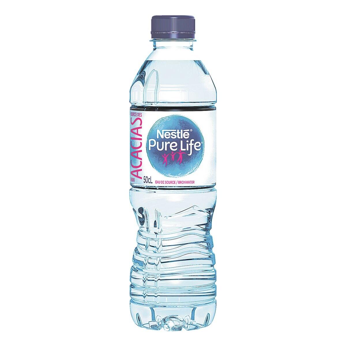 Nestle Eau minérale « Pure Life » sans gaz, 500 ml
