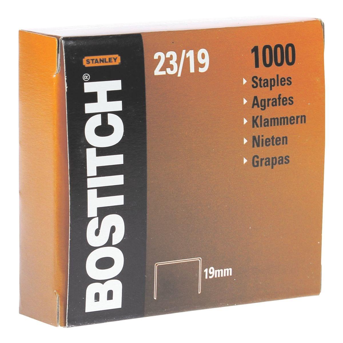 Bostitch Agrafes « 23-19-1M », 19 mm