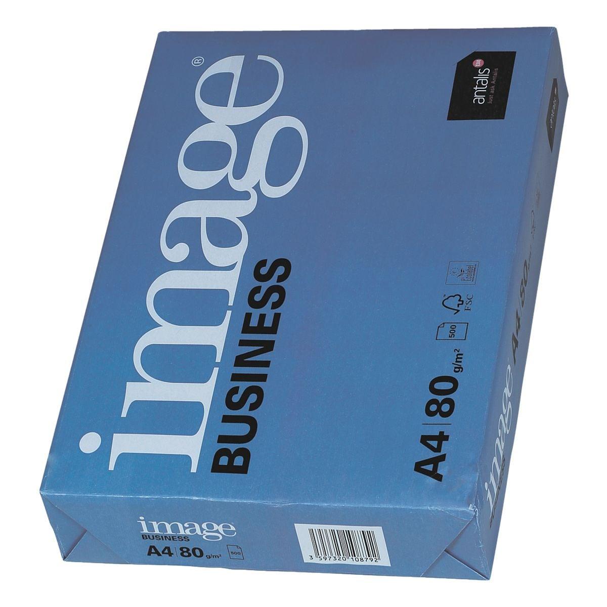 Papier imprimante multifonction A4 antalis image Business - 500 feuilles au total