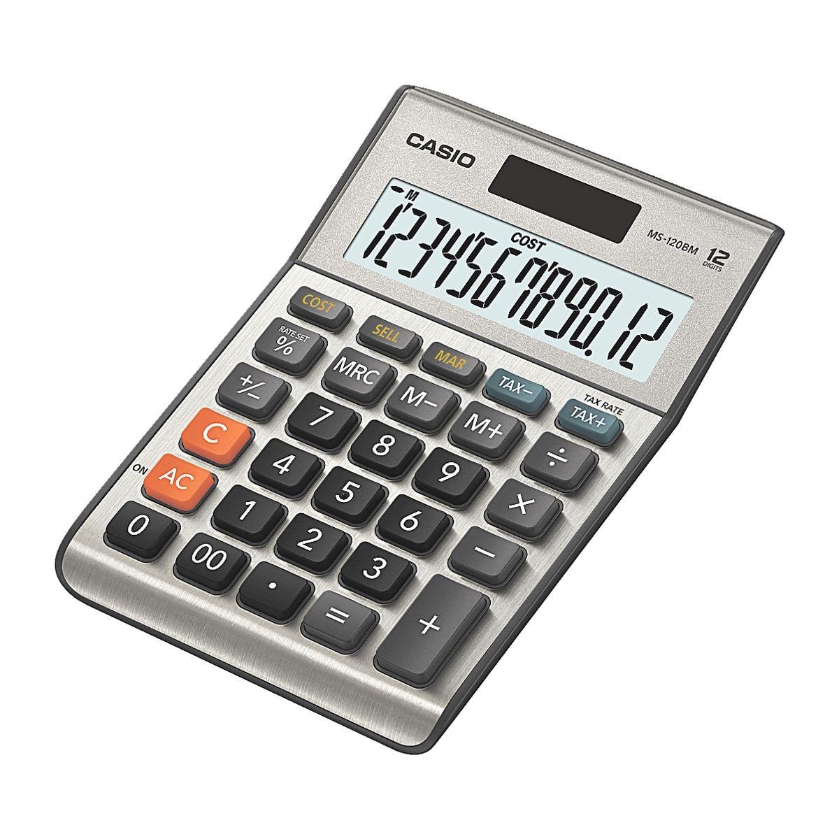 casio calculatrice ms 120bm acheter prix conomique chez otto office. Black Bedroom Furniture Sets. Home Design Ideas