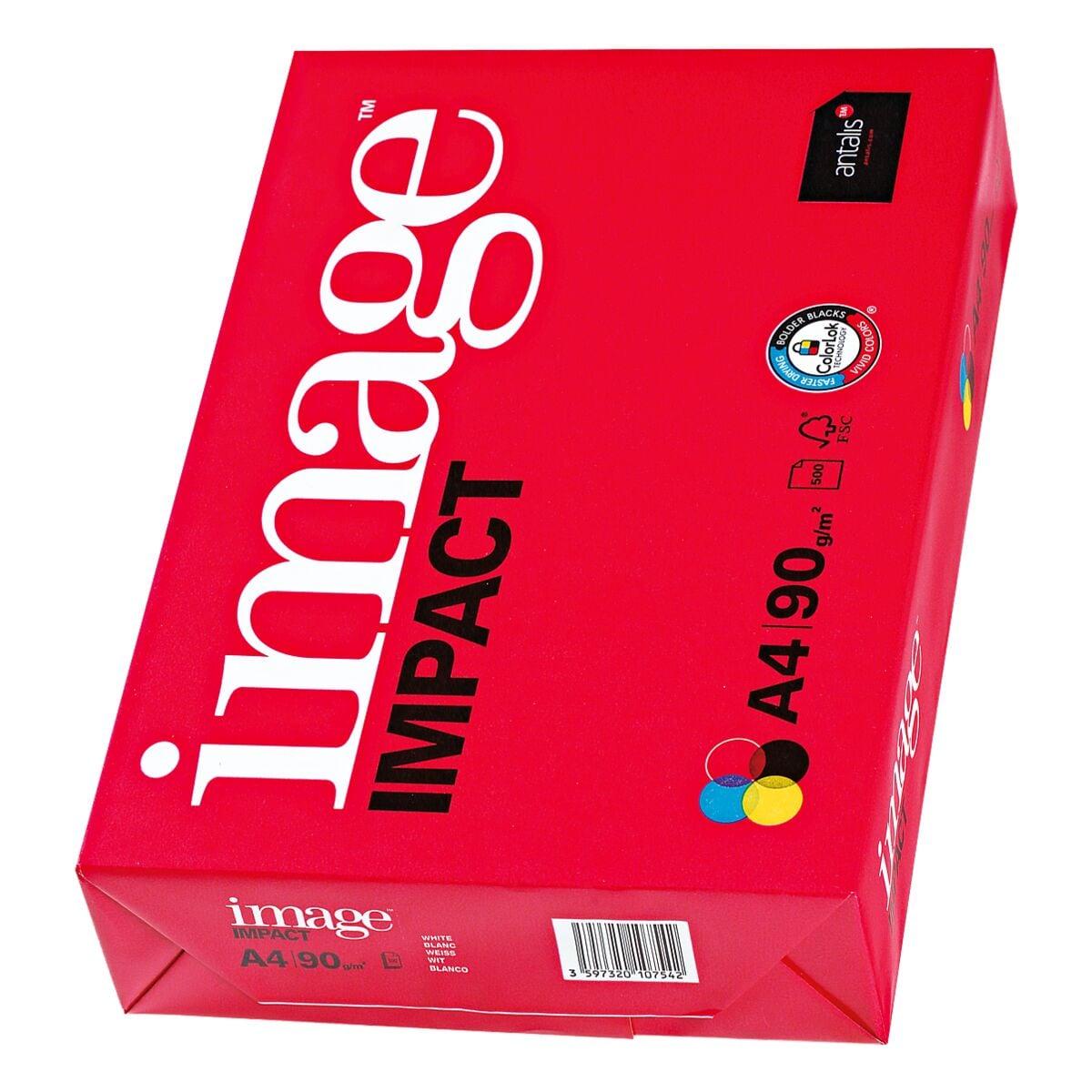 Papier multifonction A4 antalis image IMPACT - 500 feuilles au total