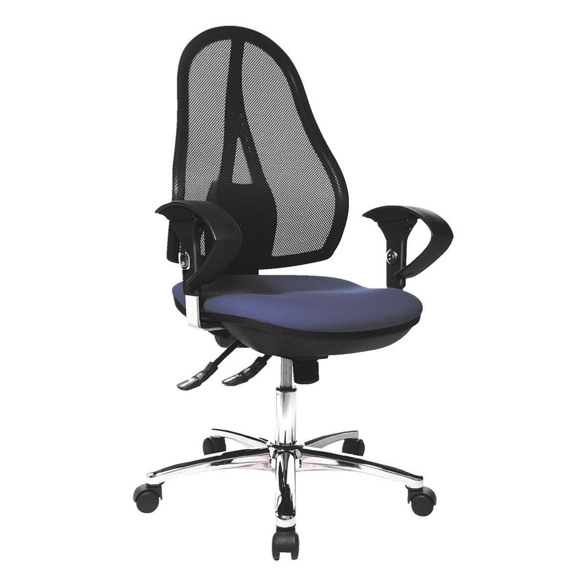 chaise / siège de bureau Topstar »Open Point SY Deluxe« avec accoudoirs