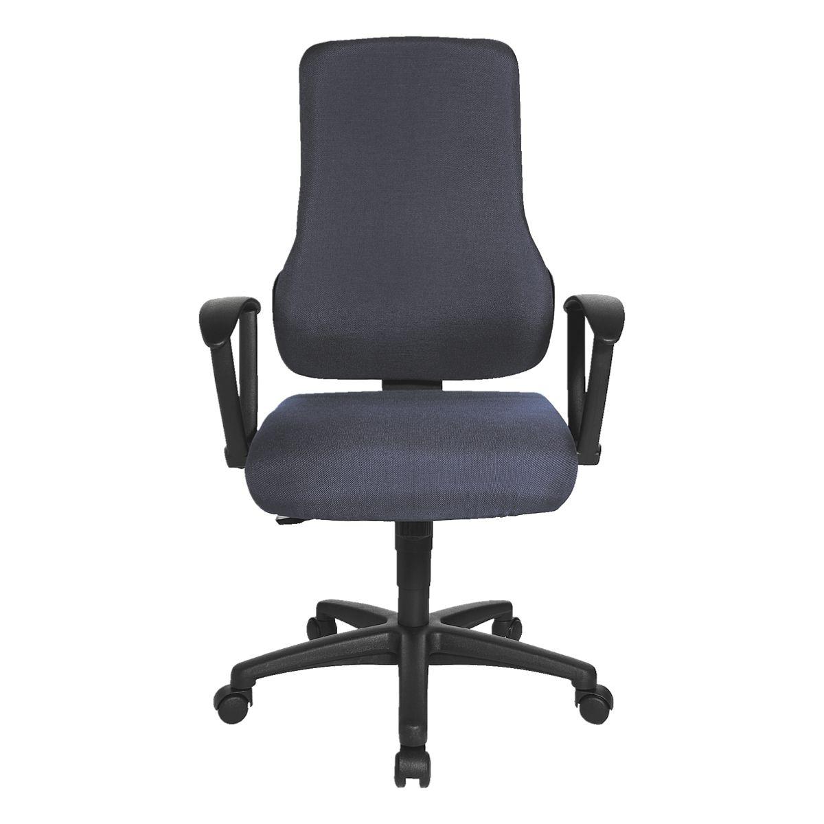 chaise si ge de bureau topstar top point sy sans accoudoirs acheter prix conomique chez. Black Bedroom Furniture Sets. Home Design Ideas