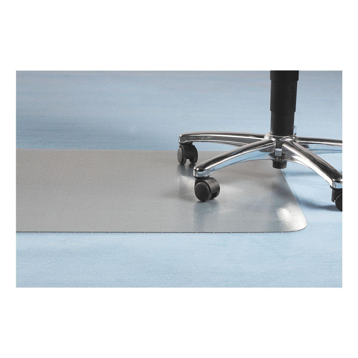 plaque protège-sol pour moquettes, PET, forme spéciale T 120 x 150 cm, OTTO Office Nature Plaque protège-sol pour moquettes