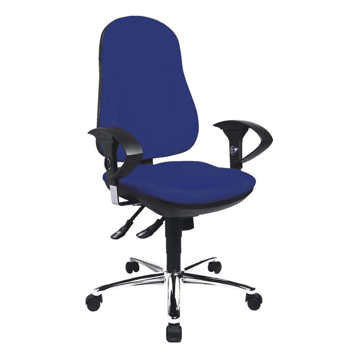 chaise / siège de bureau Topstar »Support Deluxe« avec accoudoirs