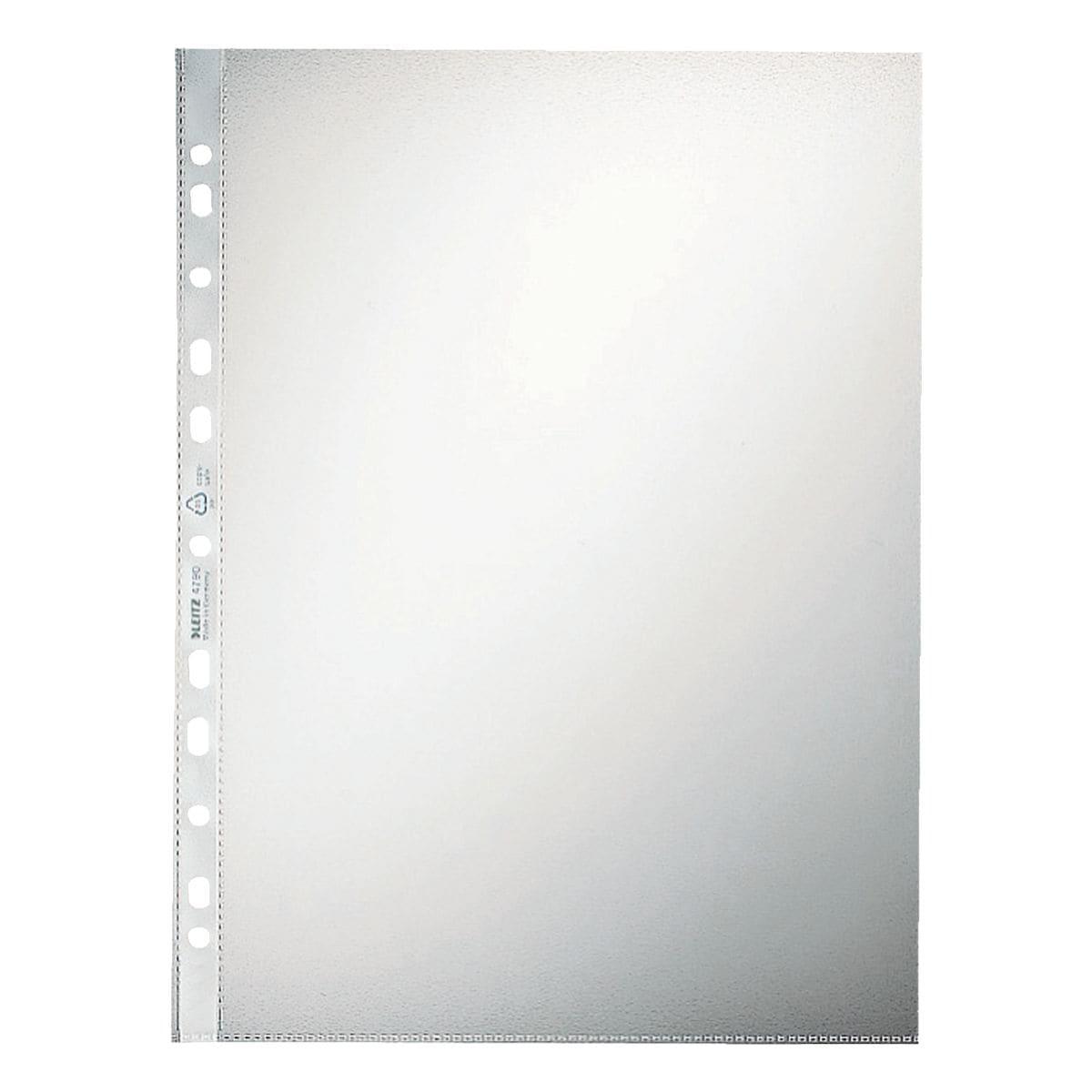 LEITZ pochette perforée 4790 A4 grainé, ouverture en haut - 100 pièce(s)