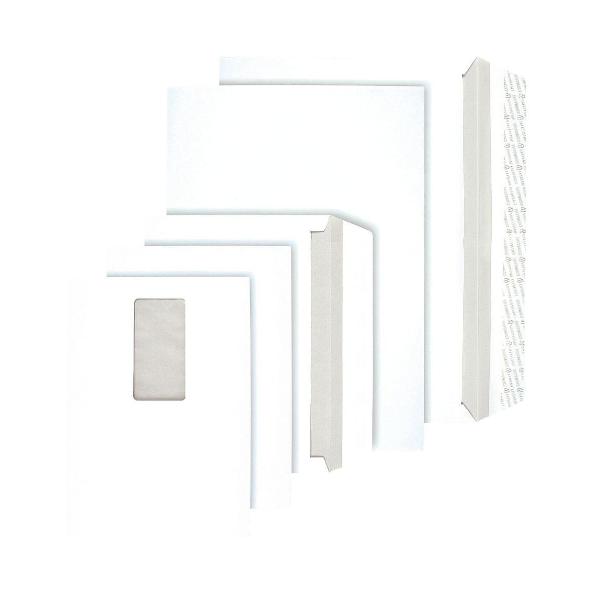BONG 500 pochettes d'expédition à ouverture latérale, C5 90 g/m² sans fenêtre