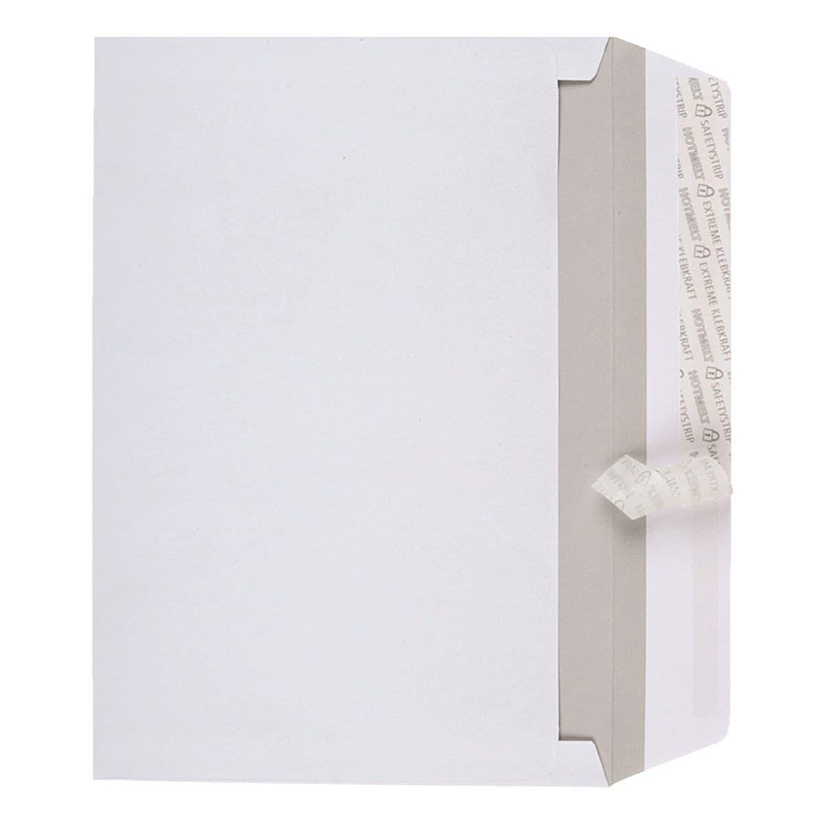 BONG 500 pochettes d'expédition à ouverture latérale, C4 100 g/m² sans fenêtre