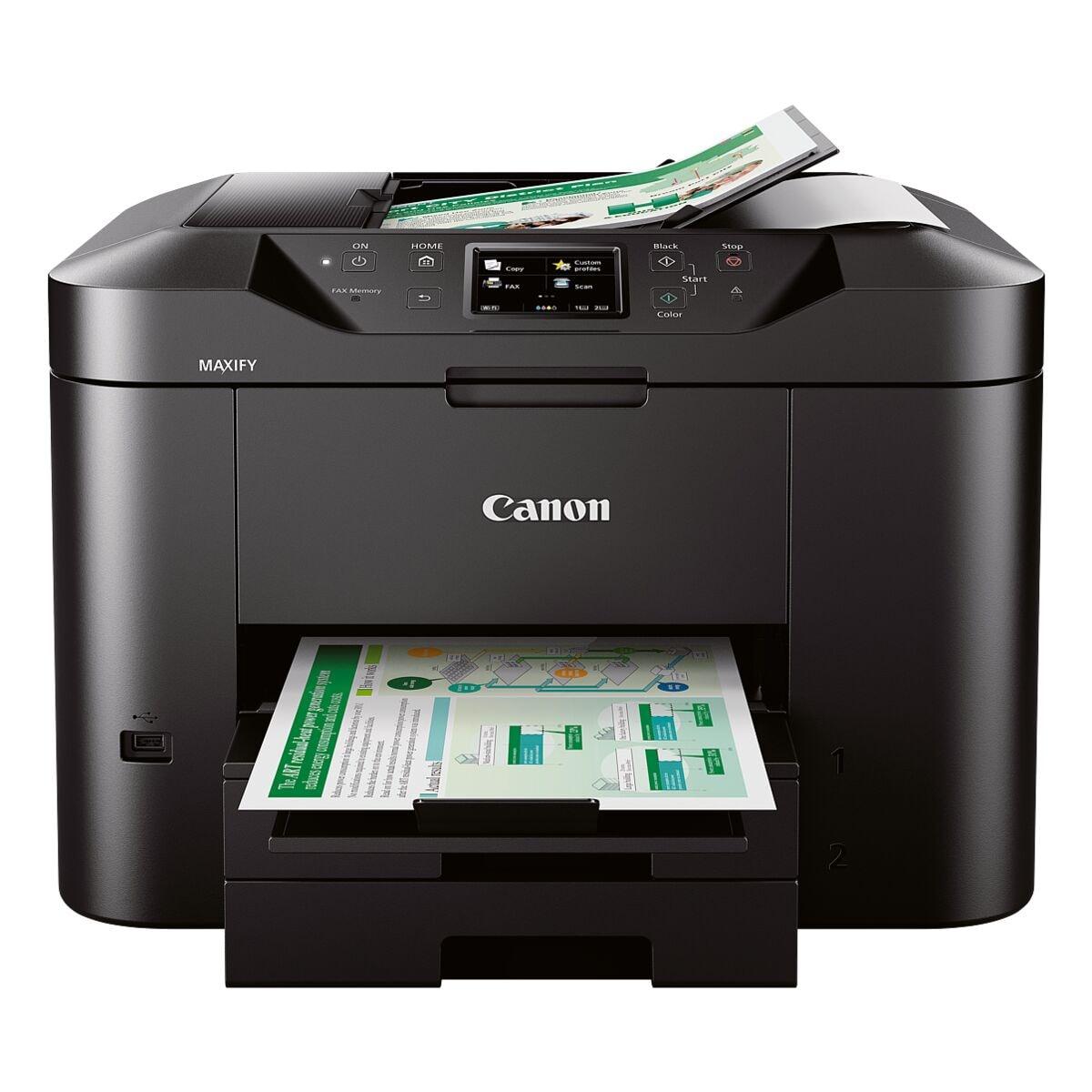 Canon MAXIFY MB2750 Imprimante multifonction, A4 imprimante jet d'encre couleur, avec WLAN et LAN
