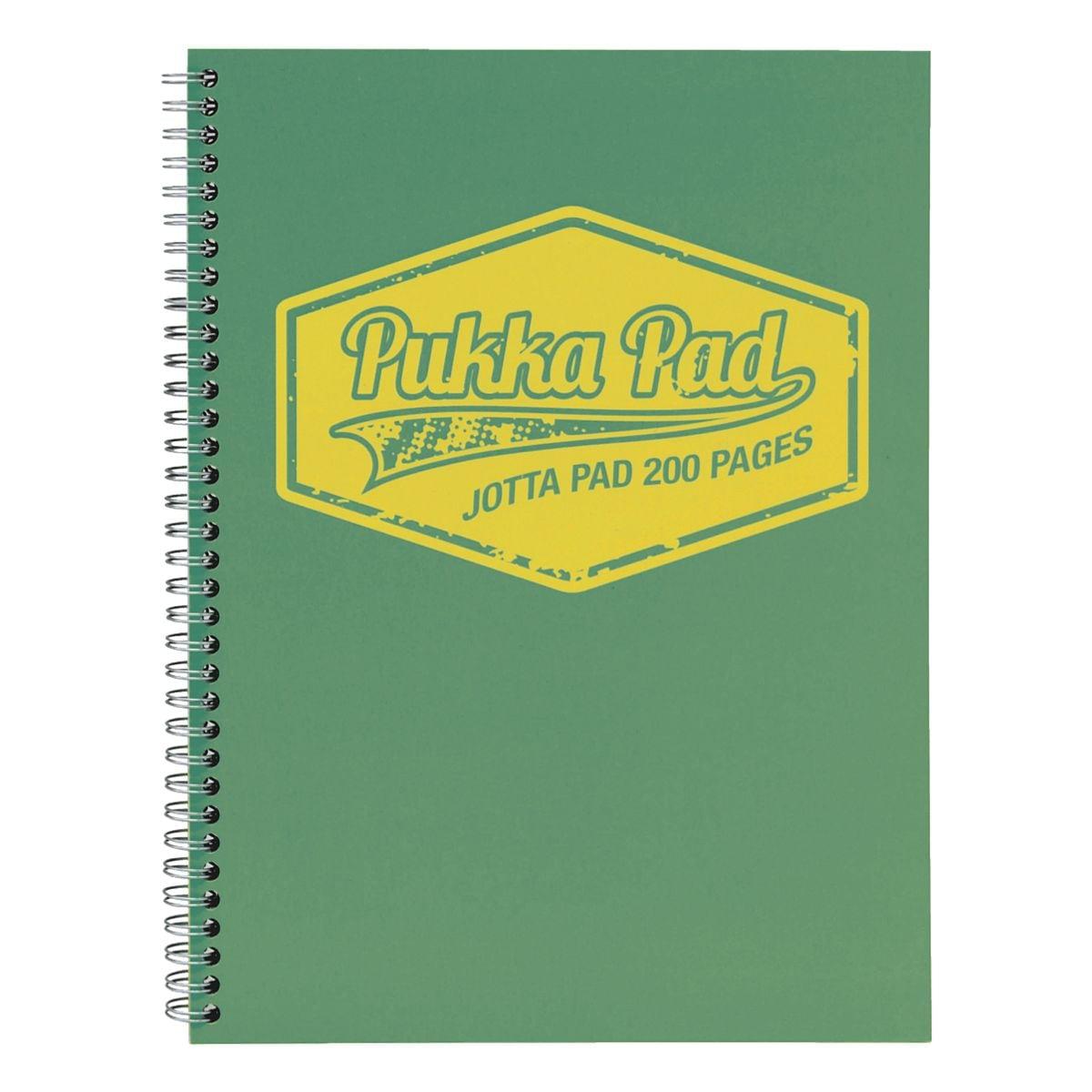 Pukka Pad cahier à spirale Neon Jotta Pad A4 à carreaux, 100 feuille(s)