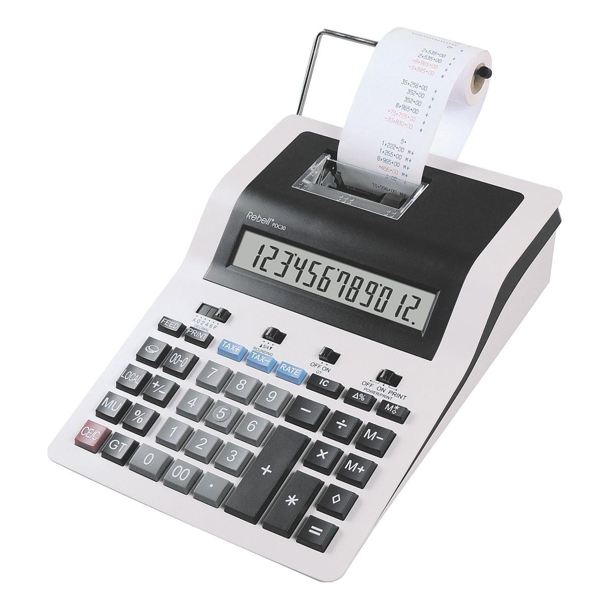 Rebell Calculatrice imprimante « PDC30 »