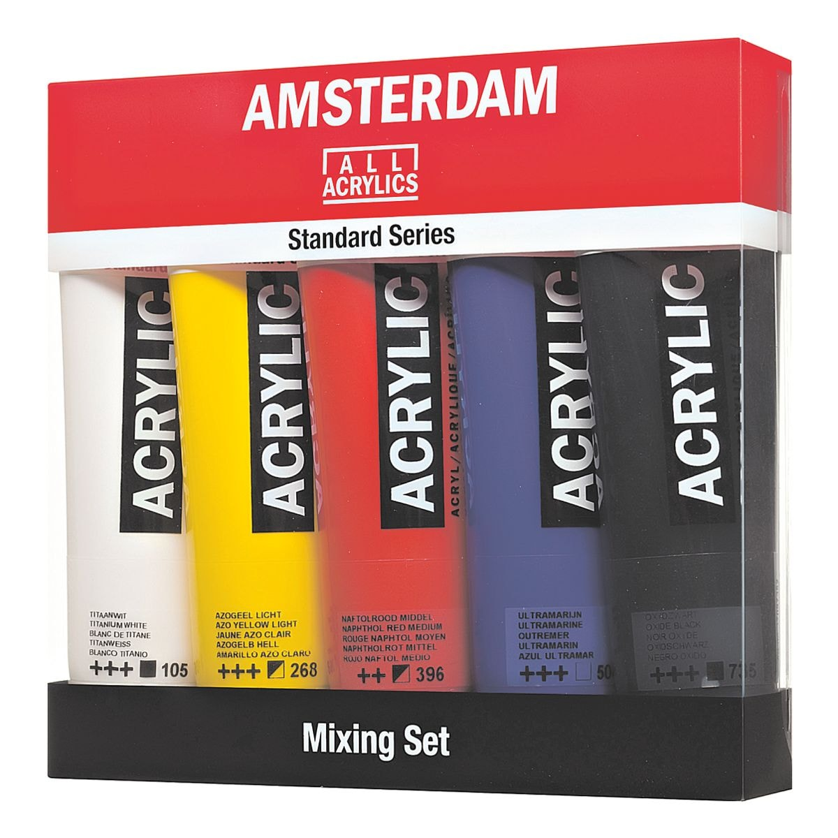 AMSTERDAM Lot peinture acrylique « Mixing Set »