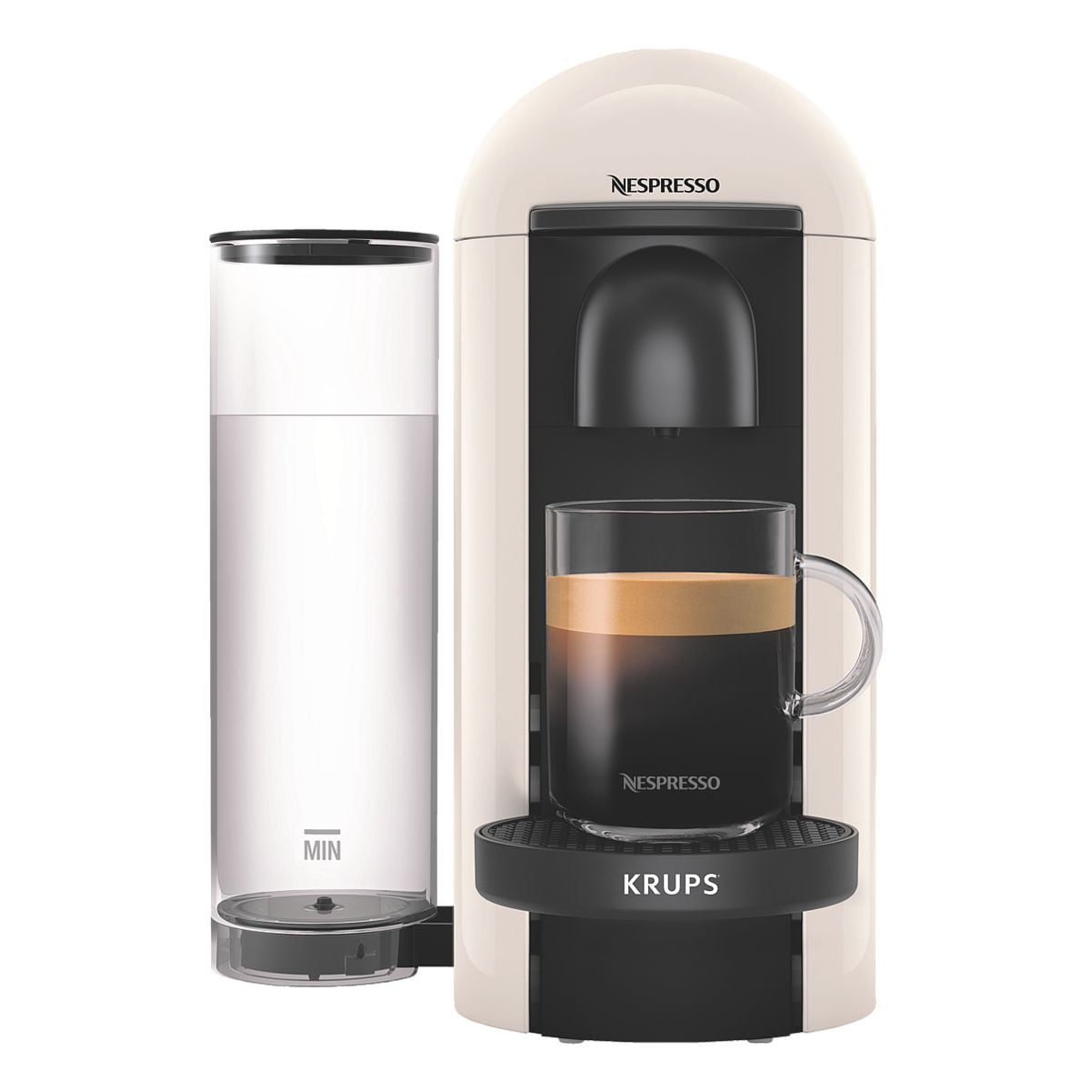 Krups Machine à café à capsules « Vertuo Plus » blanc