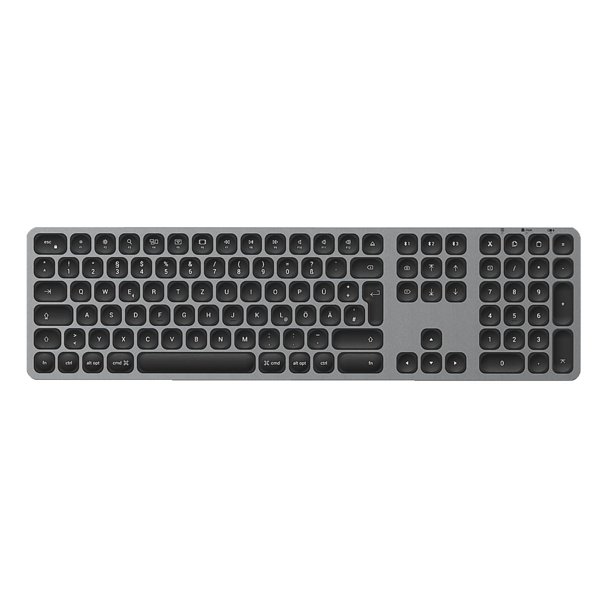 Satechi Clavier Bluetooth sans fil « Aluminum BT Keyboard Full » gris sidéral