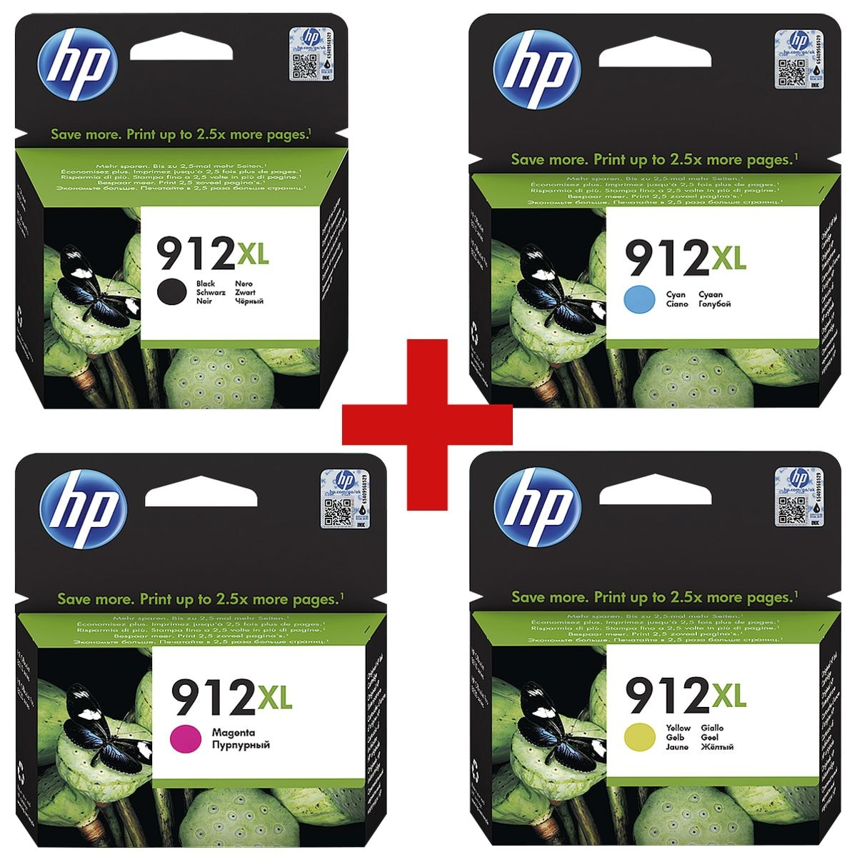 HP Cartouche jet d'encre HP 912XL - 3YP34AE