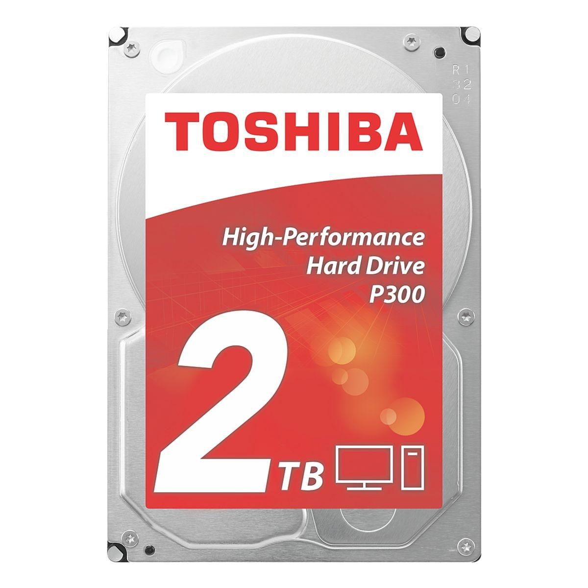 Toshiba disque dur interne 2 TB, disque dur interne HDD, 8,9 cm (3,5 pouces)