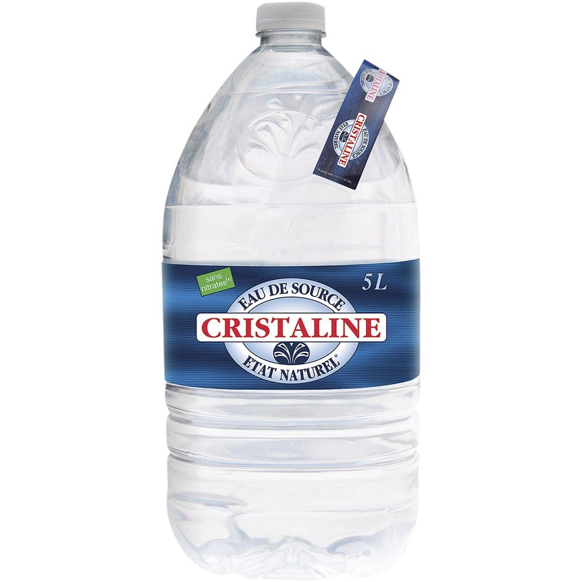 CRISTALINE Eau plate « Cristaline » 5 litres