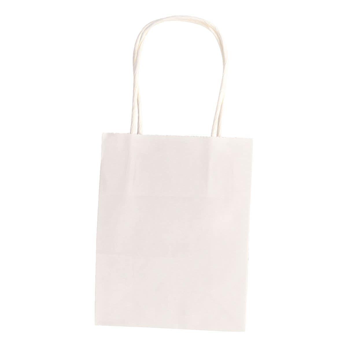 folia Paquet de 20 sacs en papier taille S - blanc