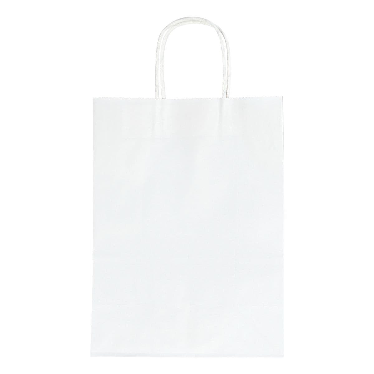 folia Paquet de 20 sacs en papier taille L - blanc