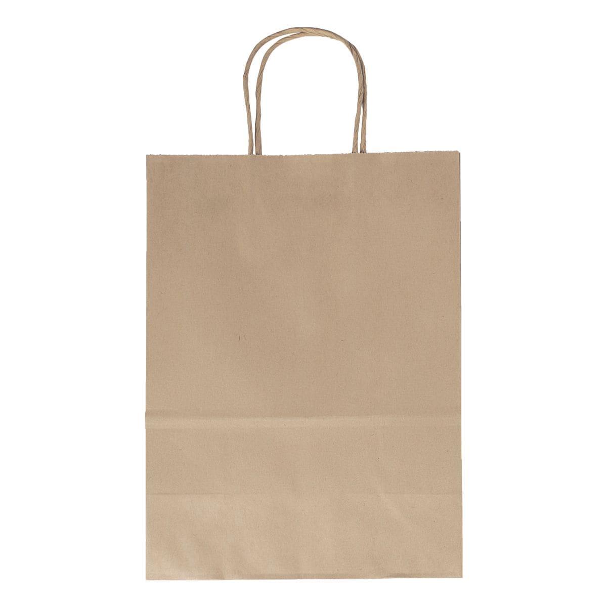 folia Paquet de 20 sacs en papier taille L - couleurs naturelles