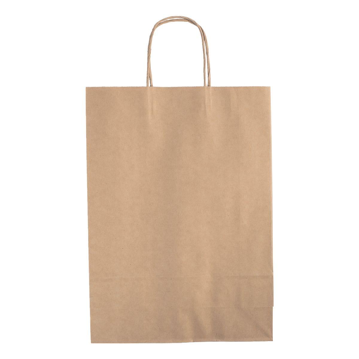folia Paquet de 15 sacs en papier XL - couleurs naturelles