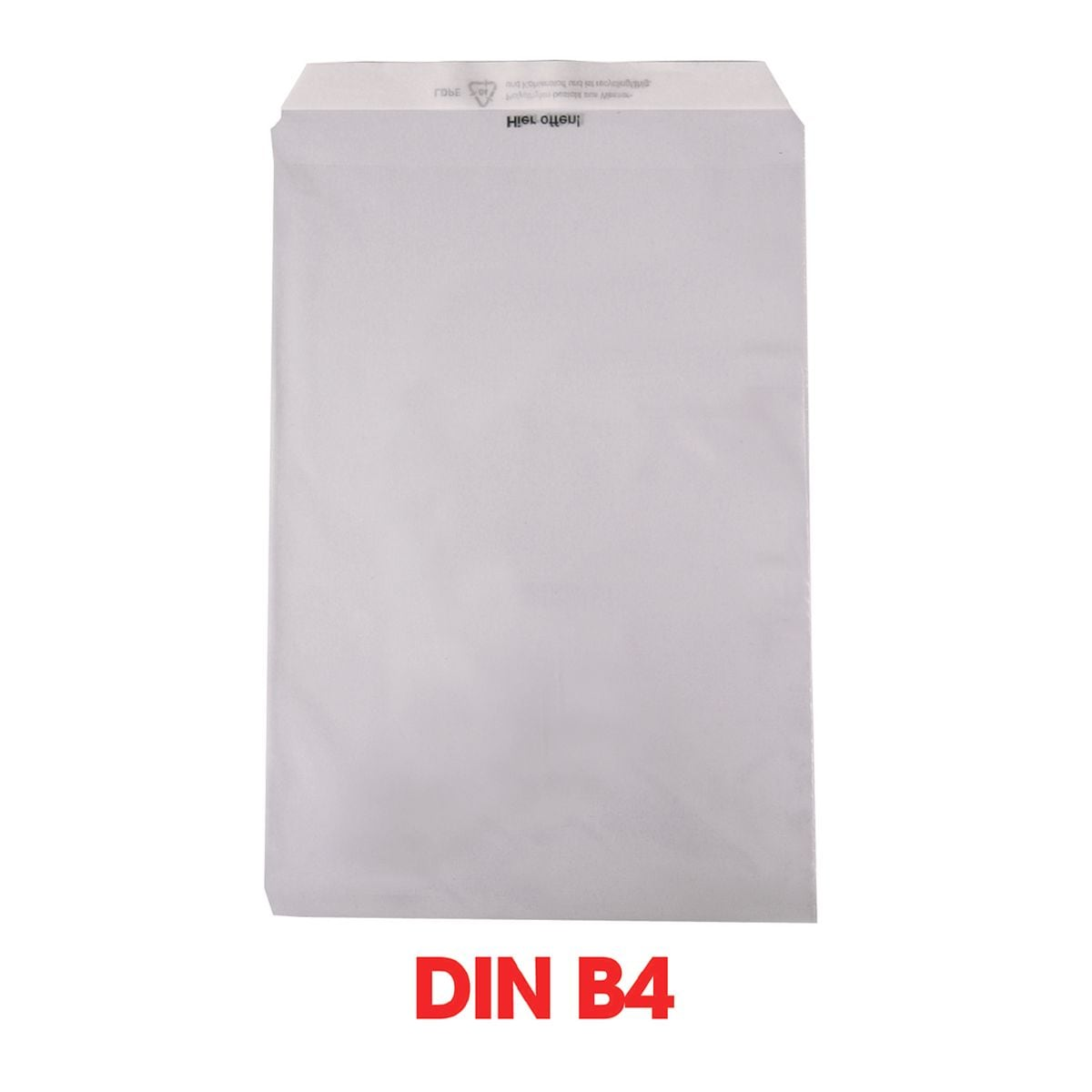 Mailmedia 1000 Pochettes transparentes, B4 50 g/m² sans fenêtre