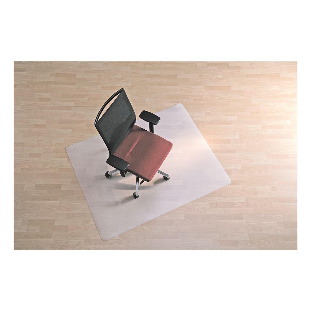 plaque protège-sol pour sols durs, polypropylène, rectangulaire 120 x 130 cm, bsm Plaque protège-sol
