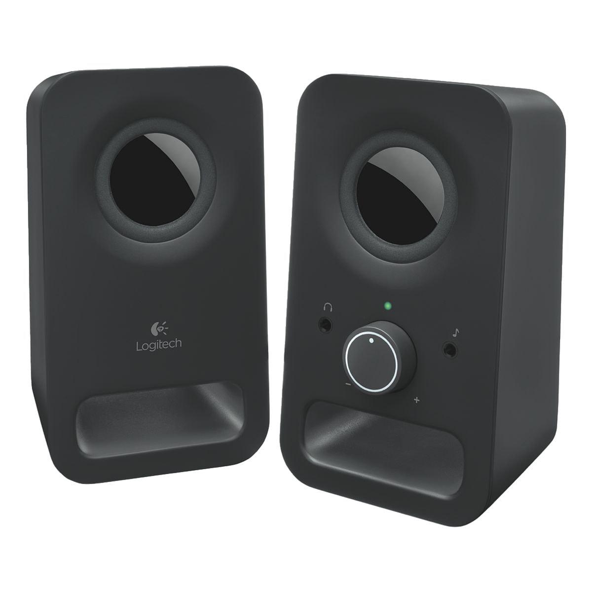logitech haut parleurs pour ordinateurs portables z150. Black Bedroom Furniture Sets. Home Design Ideas