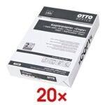 20x Papier photocopieur A4 OTTO Office Budget COPY - 10000 feuilles au total, 80g/m²