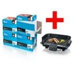 4x Boîte-éco de papier photocopieur Inapa tecno Star (A4, 80 g/m²) avec Barbecue électrique « PG 8528 »