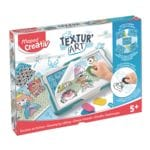 Lot puzzle et de coloriage « Texture Art »