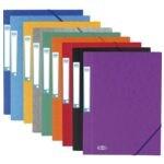 Chemise à élastiques A4 «Eurofolio Prestige» 100200
