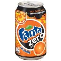 Fanta Boisson rafraîchissante « Fanta Zero Orange »
