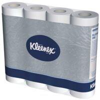 Kleenex papier toilette 2 épaisseurs, blanc - 12 rouleaux (1 paquet de 12 rouleaux)