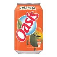 Boisson rafraîchissante Oasis « Tropical »
