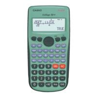 Casio Calculatrice � Fx-92B Coll�ge 2D+ �