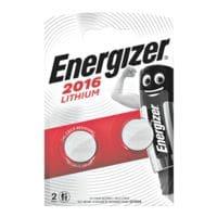Energizer Piles bouton « Spezial Alkali » CR 2016