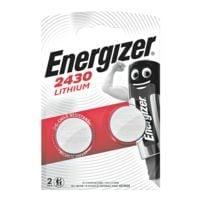 Energizer Piles bouton « Spezial Lithium » CR 2430