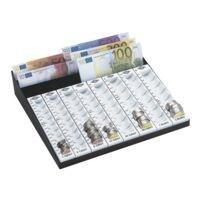 Wedo Planche de comptage avec compartiment pour billets « capacité - pièces 256,20 € »