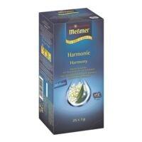 Meßmer Infusion aux fruits et herbes « Profi Line Harmonie » portion pour tasses, enveloppe aromatique, paquet de 25