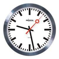Peweta Uhren Horloge à quartz avec aiguille des secondes de gare - silencieuse Ø 30 cm