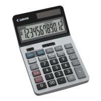 Canon Calculatrice « KS-1220 TSG »