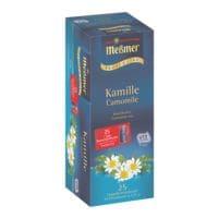 Meßmer Infusion aux herbes « Profi Line Kamille » portion pour théières, enveloppe aromatique, paquet de 25