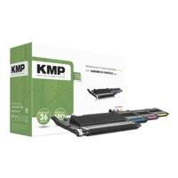 KMP Lot de toners équivalent Samsung « CLT-P406C/ELS »
