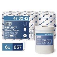 Tork Essuie-tout en papier multi-usages « Reflex™ » (6x 857 feuilles) bobine à dévidage central