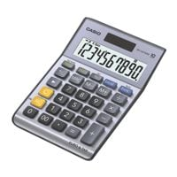 CASIO Calculatrice « MS-100TERII » argenté