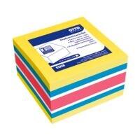 OTTO Office Bloc cube de notes repositionnables 4 couleurs 75x75 mm 400 feuilles