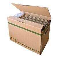 cartonia Boîte à archives pour dossiers suspendus - 5 pièces